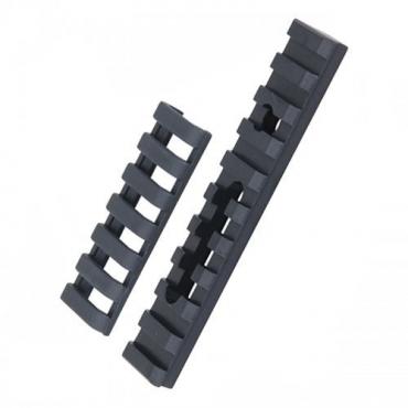 10-Slot Aluminum Rail Mounting Platform