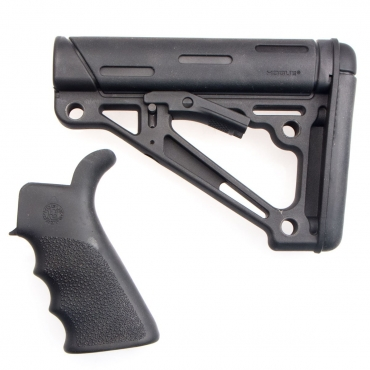 Hogue OverMolded® Grip and Collapsible Buttstock Kit