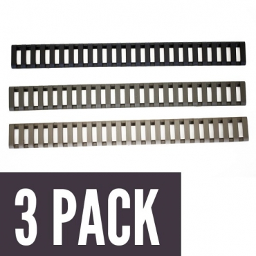 25-Slot LowPro Ladder Rail Covers™ (3PK)