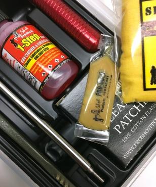 .38 thru .45 Cal.Pistol Cleaning Kit
