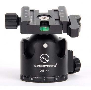 44mm Low-Profile Ball Head with Quick-Lever Clamp