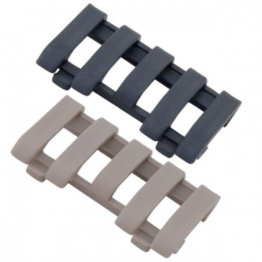 5-Slot LowPro Wire Loom Rail Covers