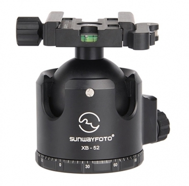 52mm Low-Profile Ball Head with Quick-Lever Clamp