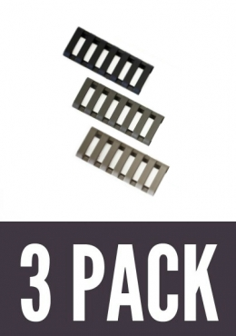 7 Slot LowPro Ladder Rail Covers™ (3PK)