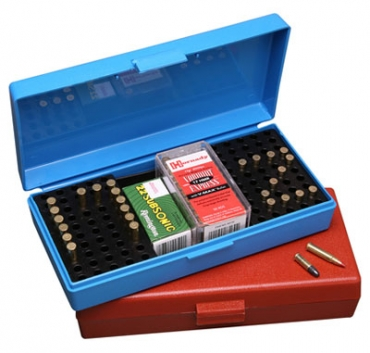 Ammo Box 100Rd 22 LR/.17 HMR Rimfire Competition