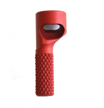 Bolt Handle, Red (Left) 1827F