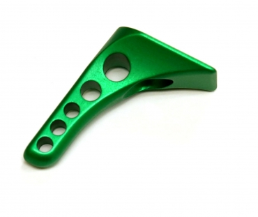 Butt Hook - Drilled Green