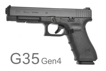 Glock G35 Gen 4 ADJ Sights .40 S&W