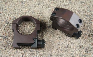 HD 30mm Rings, MIL STD 1913, MED