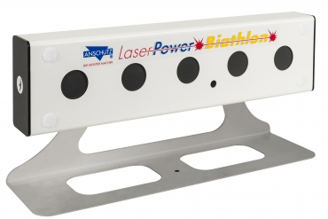 LaserPower III Table holder for target box