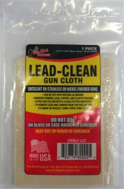 Lead Clean Cloth