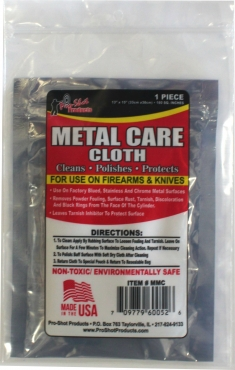 Metal Care Cloth