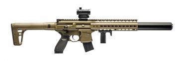 Sig MCX Air Rifle Red Dot, FDE .177