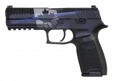 Sig Sauer P320 Thin Blue Line